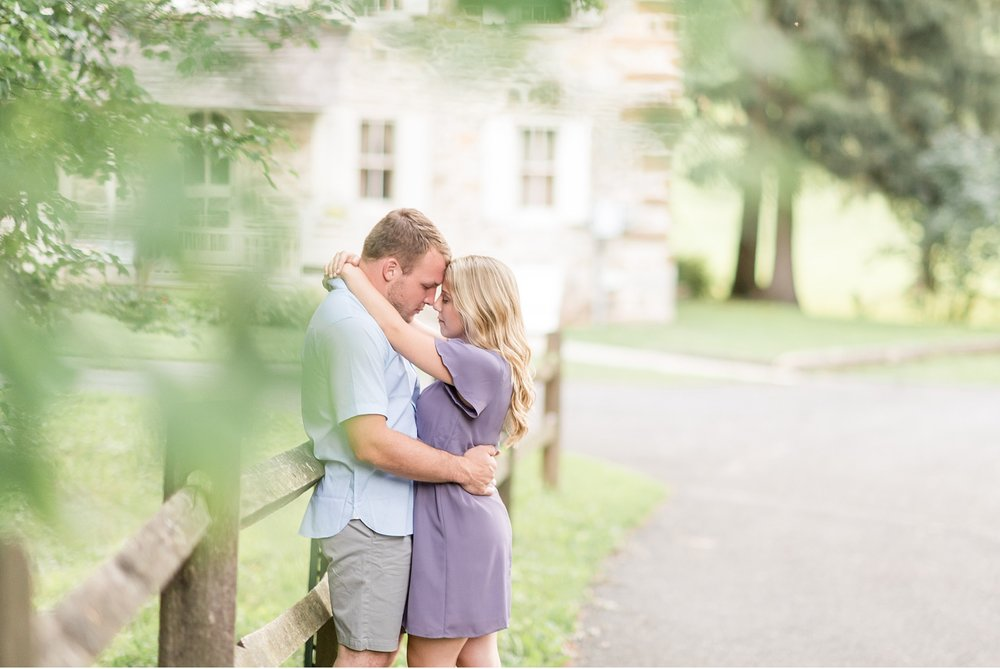 Bride and Groom Grings Mill Berks County Light and Airy engagement session at golden sun Wedding Photography photo_1824.jpg