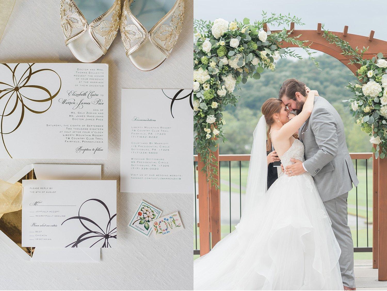 elizabeth + warren   liberty mountain resort   wedding — lancaster