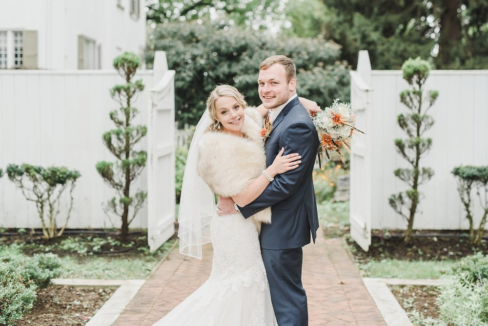 Elegant fall wedding White Chimney's Gap Photography photo