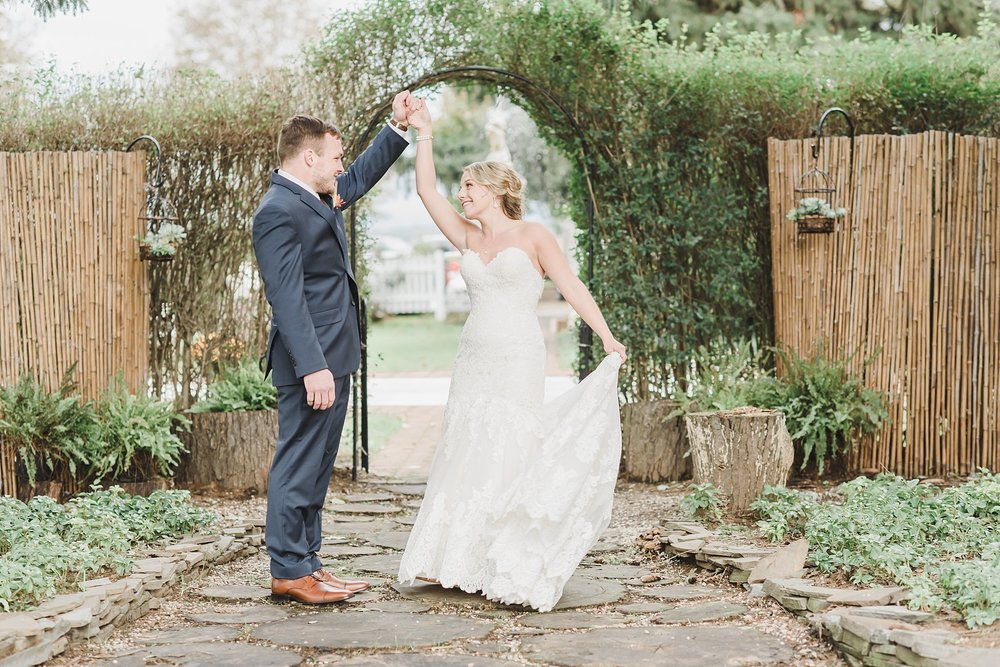 Bride and Groom dancing White Chimney Wedding Photography Photo