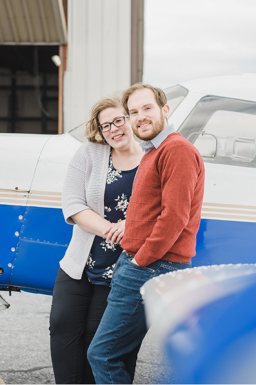 Lancaster airport Lititz Wedding photographer engagement session photo_2933.jpg
