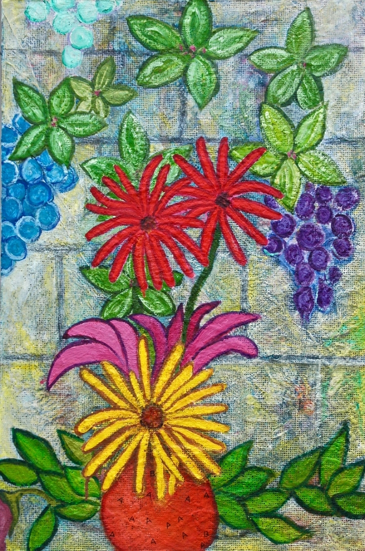 DAISYS AND GRAPES