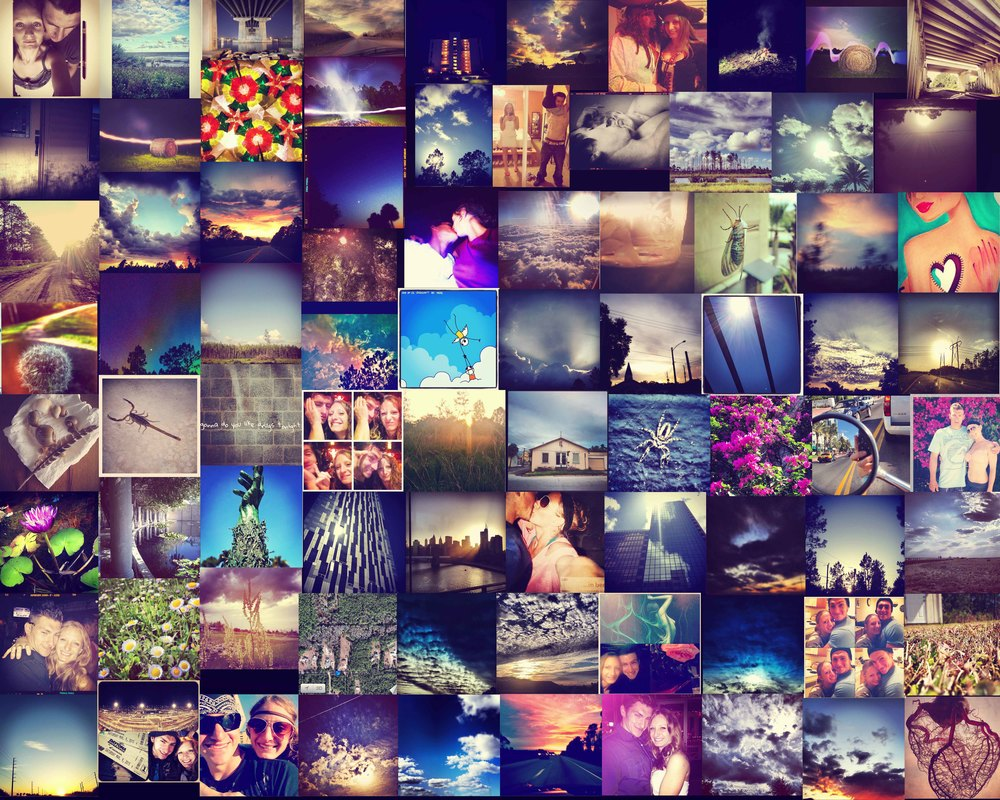 A years worth of instagram with my love