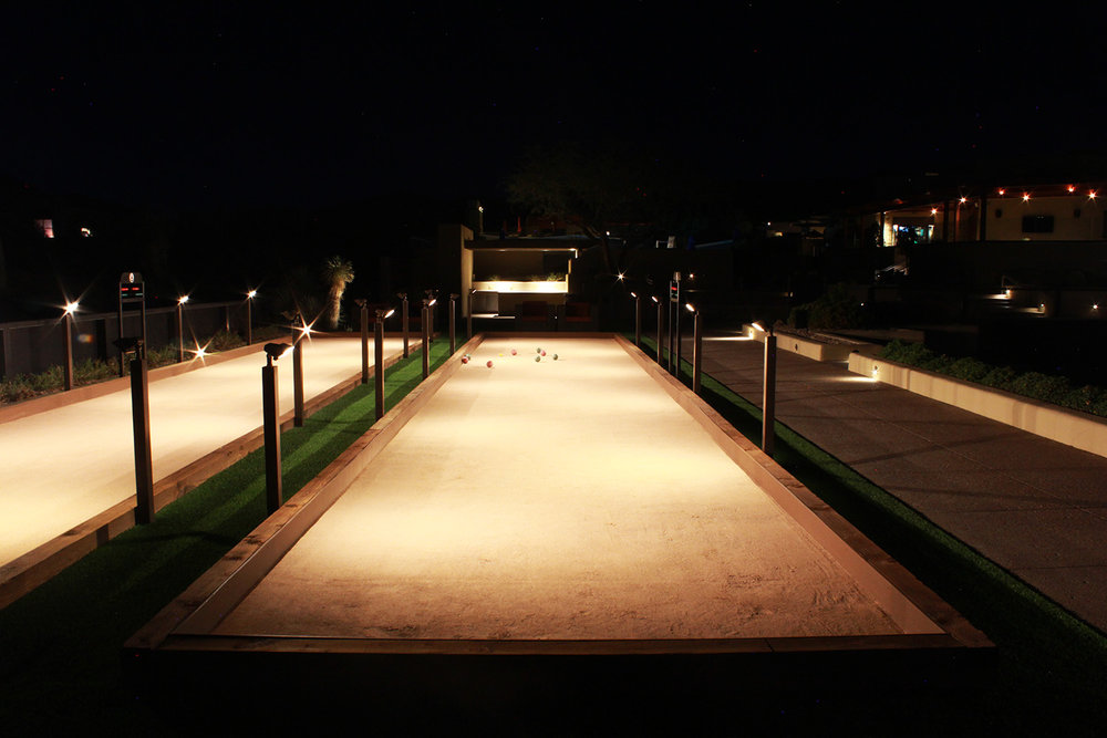 Bocce Court Light