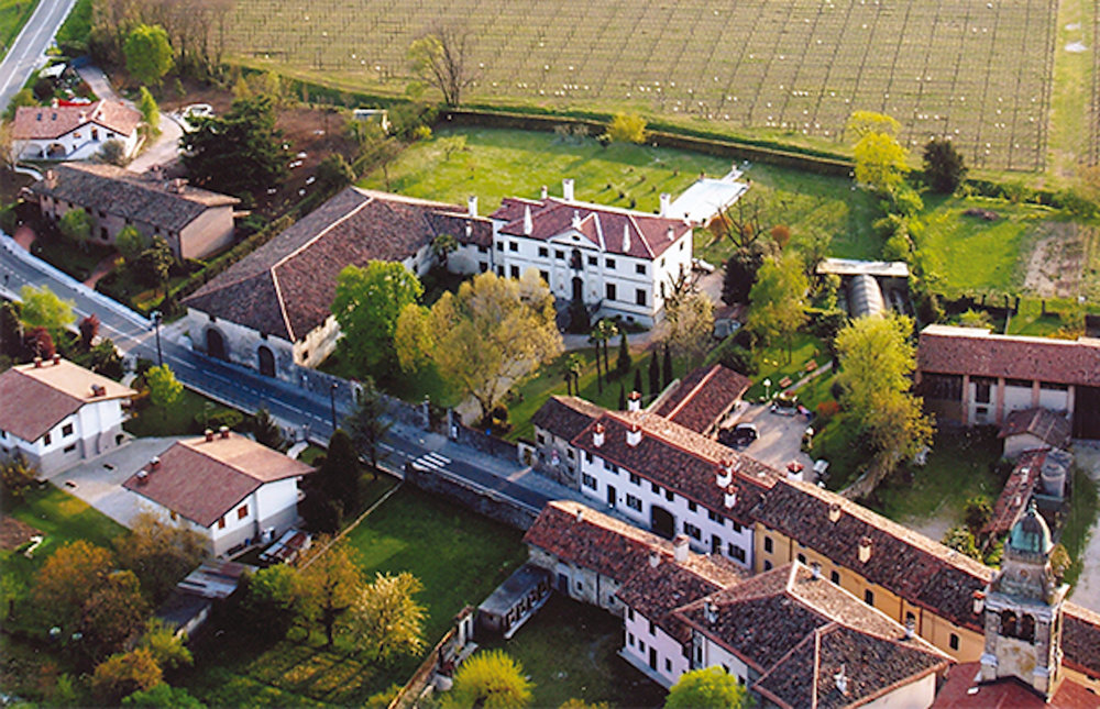 Imagine yourself - at Villa Manin Guerresco in Clauiano, Italy