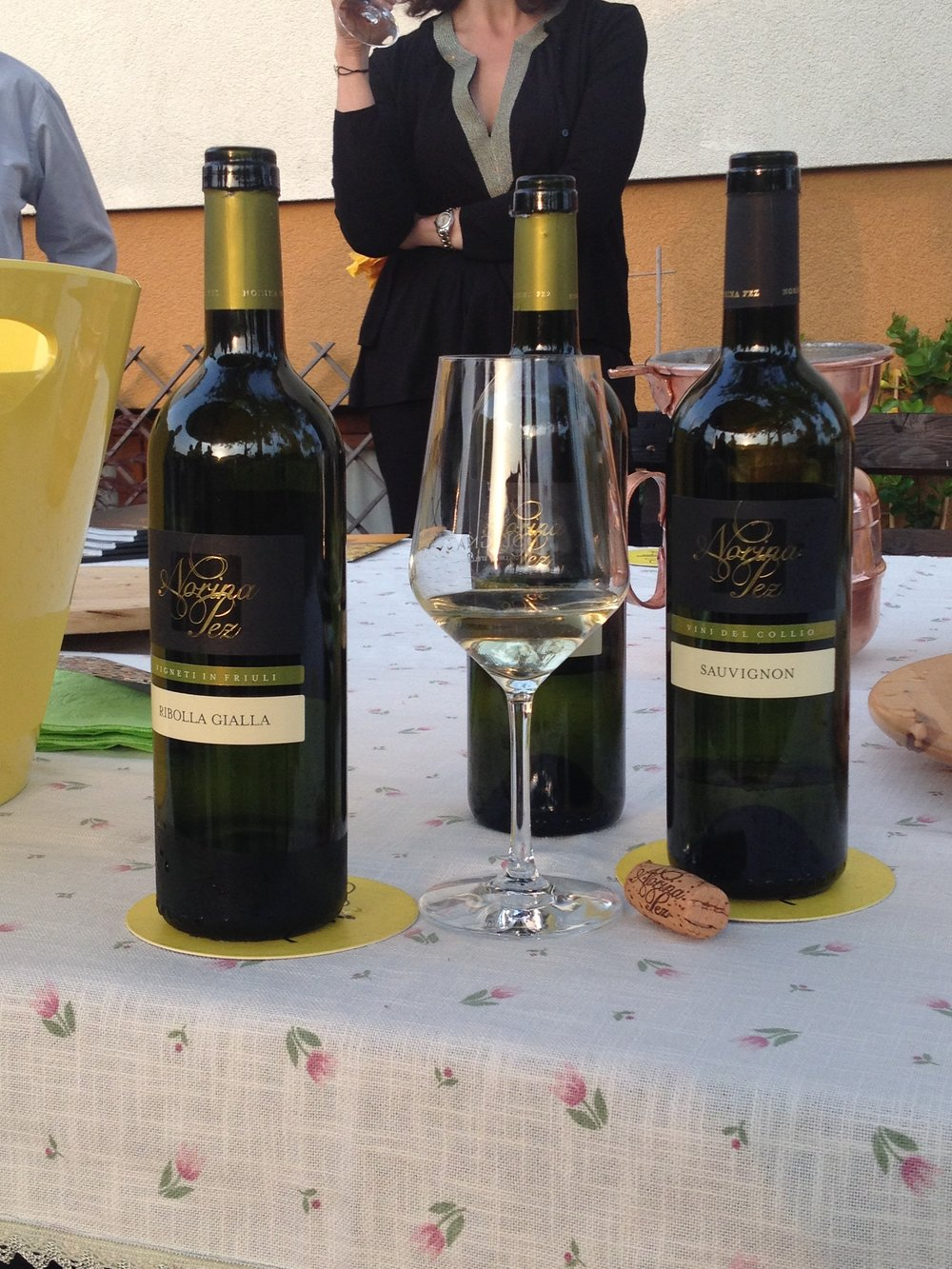One of the specialty varietals of the Collio is the Ribolla Gialla grape, which makes an exceptionally nice white. We know from experience...
