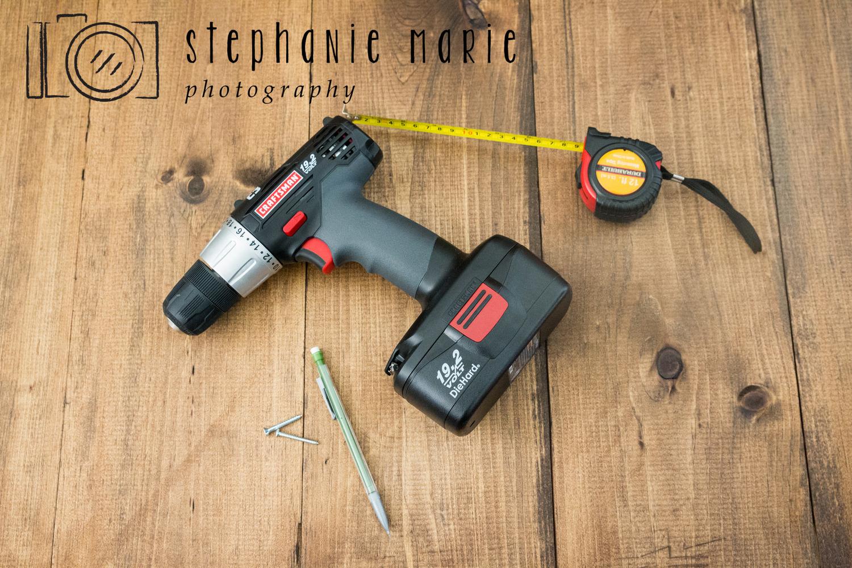 Diy Faux Hardwood Wall Floor Stephanie Marie Photography