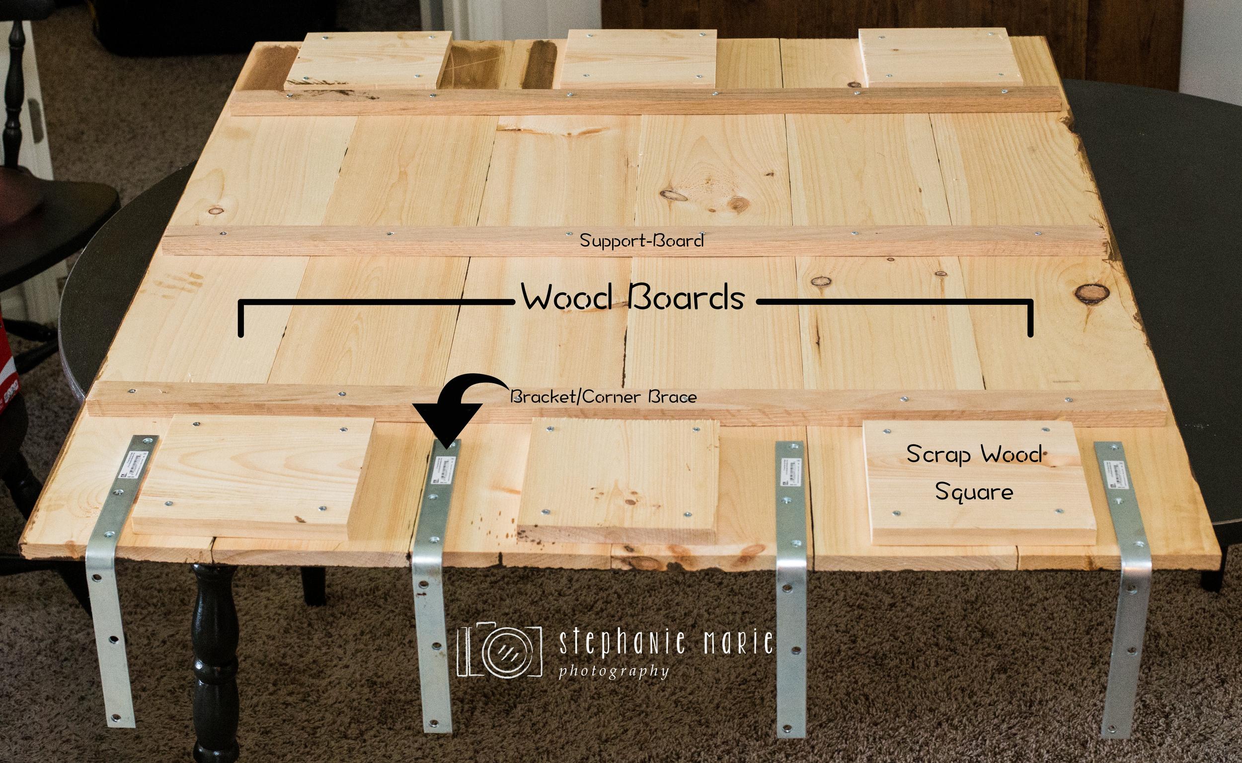 DIY: Faux Hardwood Wall & Floor — Stephanie Marie Photography ...