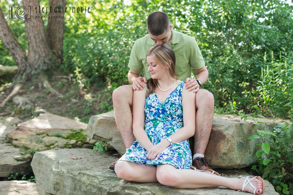Cox Arboretum MetroPark, Greater Dayton Ohio, Couples Photography, Couples Portrait Photographer
