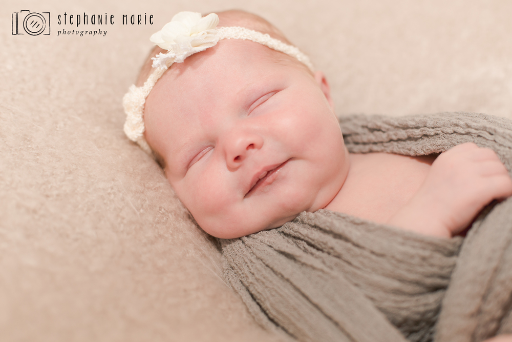 Centerville, Ohio In Studio Newborn Portrait Session, Stephanie Marie Photography, Portrait Newborn Photographer