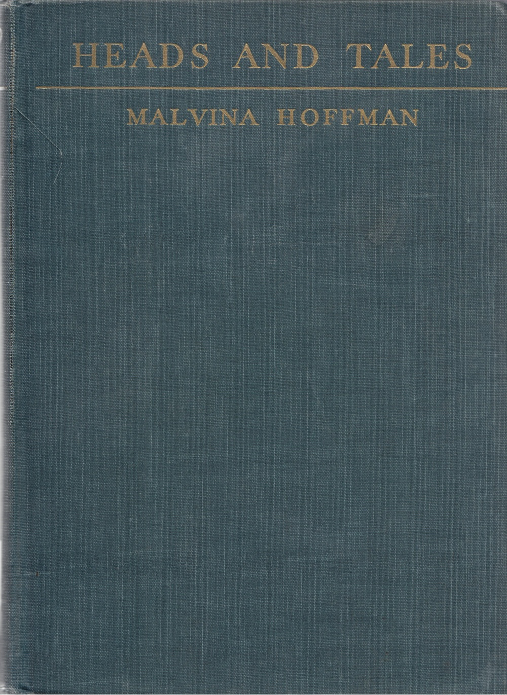 Cover of Hoffman's memoir,  Heads and Tales
