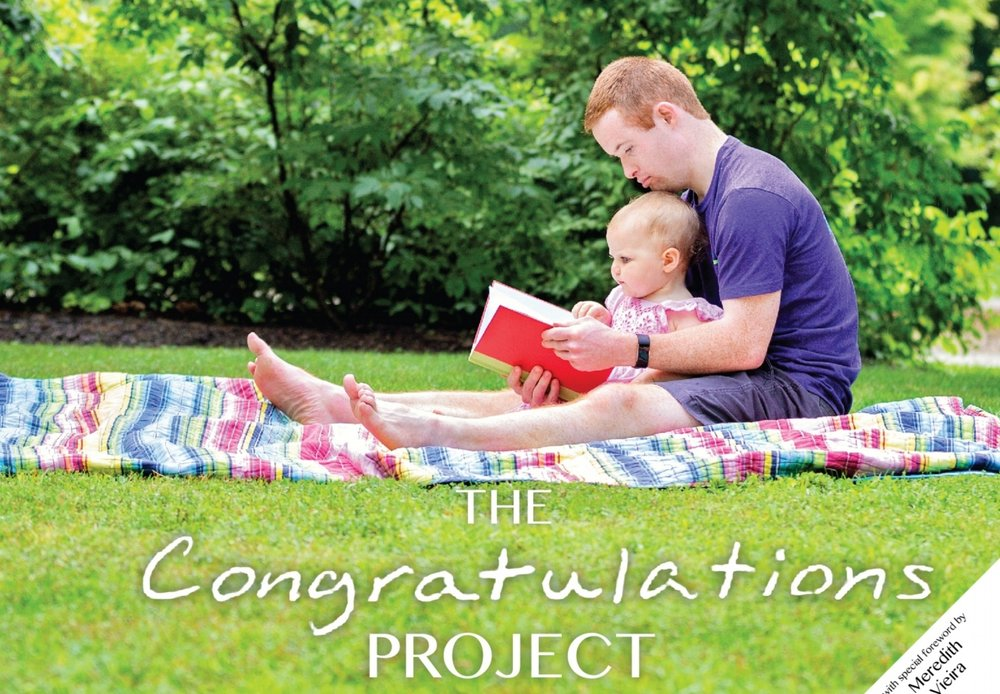 The Congratulations Project  book  You can officially get your copy of   The Congratulations Project book   filled with inspiring letters and pictures of our PALS Campers.  Visit our page  today to get the perfect holiday gift!