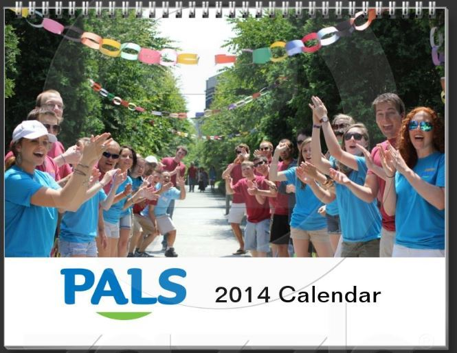 Looking for a way to relive your PALS memories every day in 2014? Check out the first-ever PALS Calendar - now available here!       Full of great photos and quotes from this past year, you can purchase this calendar or even swap out photos for a few of your own favorites!       Click  here  to purchase!