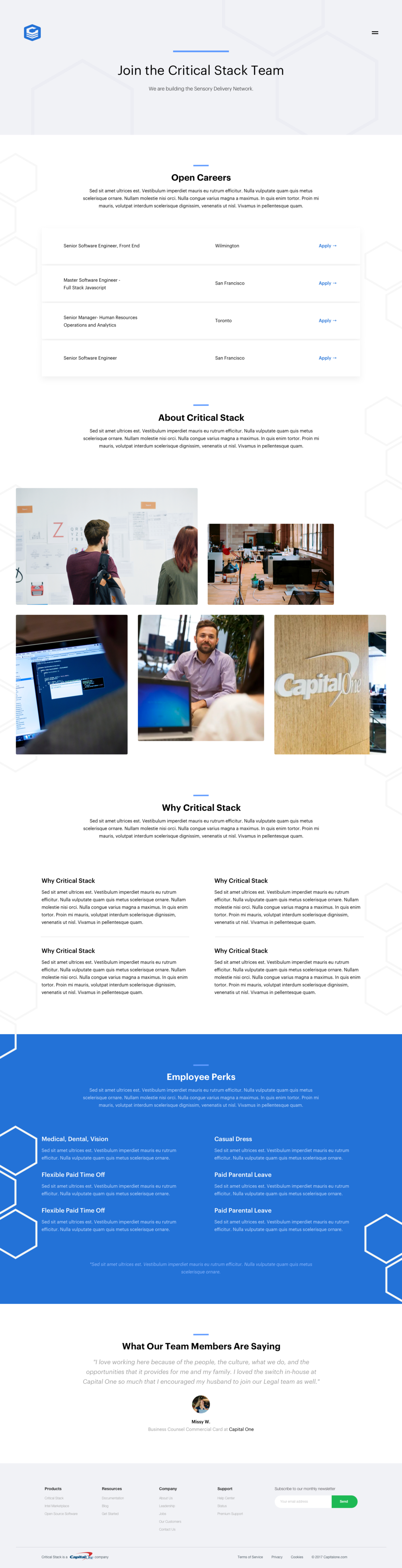 Jobs Page: Expanded Version