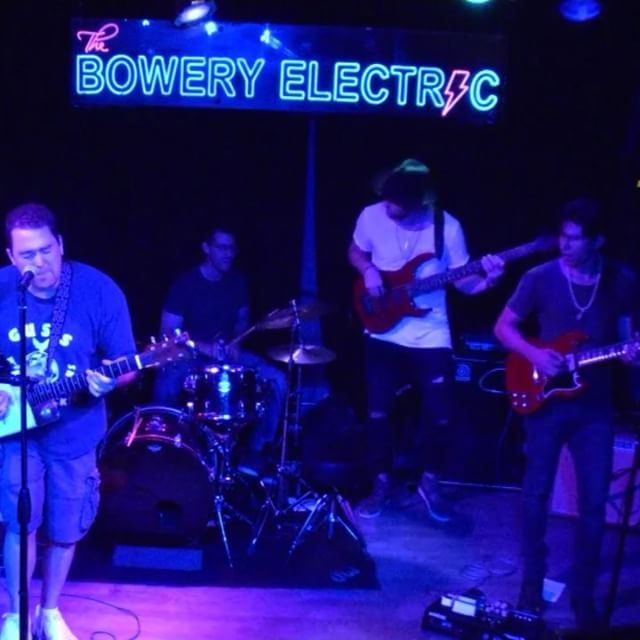 We don't know karate either... but we do know how to kick out the jams🥋🎶 . . . A couple clips from the show at @theboweryelectric last week. ⚡️ #thevibetheory #tvt #livemusic #musicians #newyorkcity #nyc #bowery #electric #turnitup #summertime #funk #soul #dance #getdown #jamesbrown #thegodfather #payback #turnitloose #bumpit