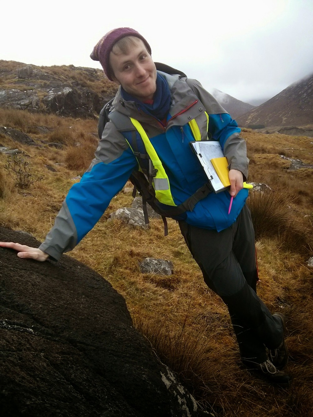 Tom Stanley - Recruiting and Outreach Coordinator   3rd Year Geology M.Geol. Student.  Tom is an exchange student from the University of Leeds, UK. He has focused his studies towards working in the mineral exploration sector, and acted as treasurer to the Leeds student chapter of the Society of Economic Geologists in 2013/14.