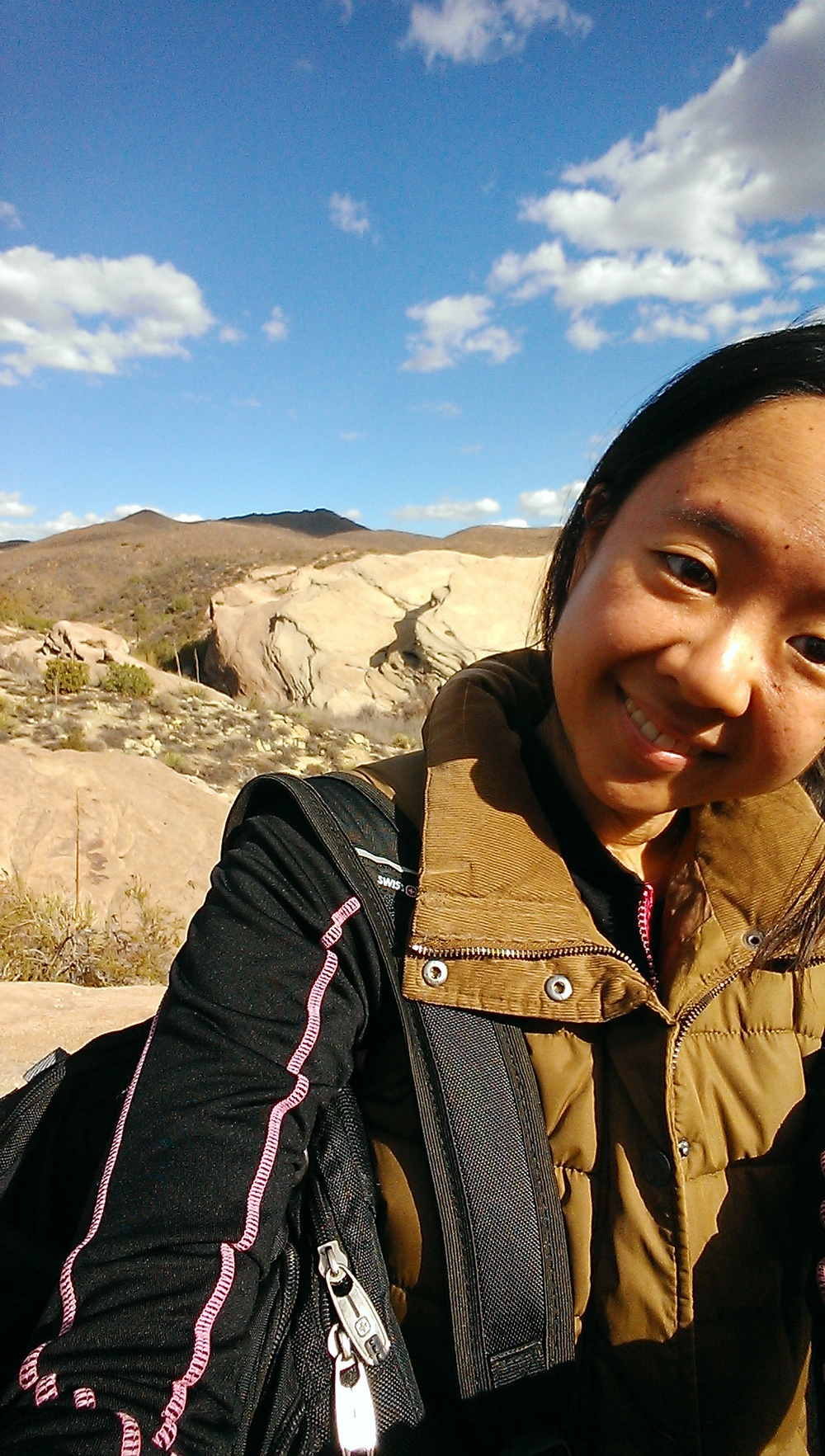 Jessica Lin - Webmaster   3rd Year Applied Geophysics B.S. student  Jessica is a curious explorer who loves hiking canyons and venturing in the wilderness. She also enjoys reading, playing cello, and collecting minerals.
