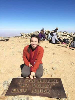 Juliet Olsen - President 4th Year Engineering Geology B.S. student This is Juliet's 3rd year on the BGS officer team! She has been involved with different research teams in the UCLA department, including Spinlab, the OSL lab, San Andreas fault studies and other independent projects.