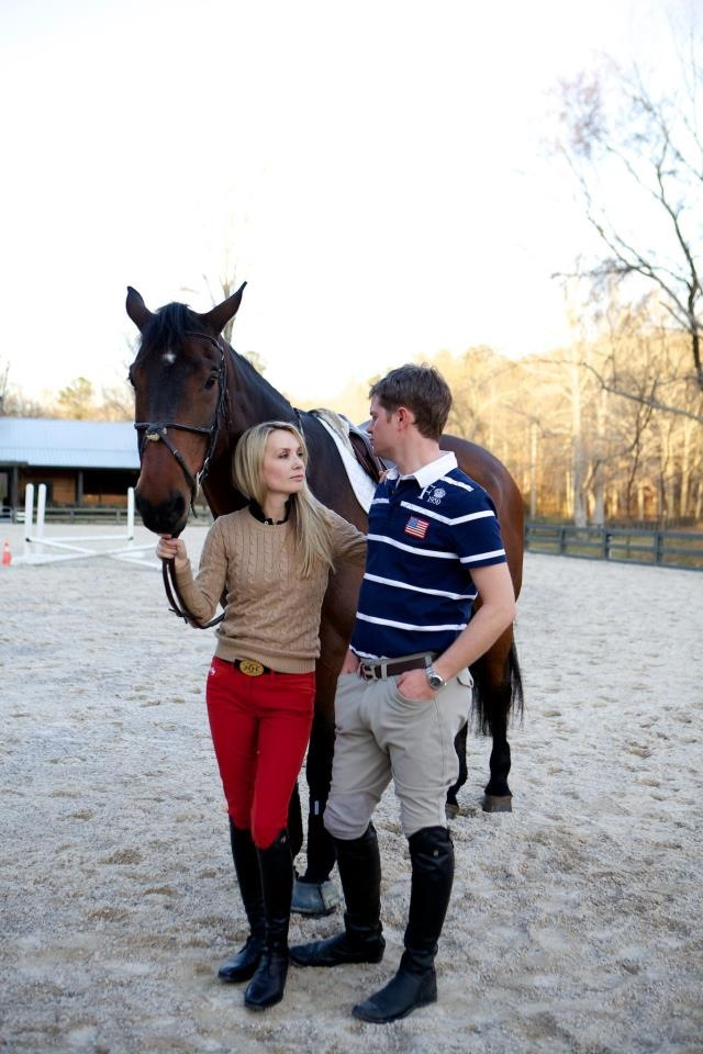 Arden and William Upton with Midnight Dance at Windwood Equestrian.
