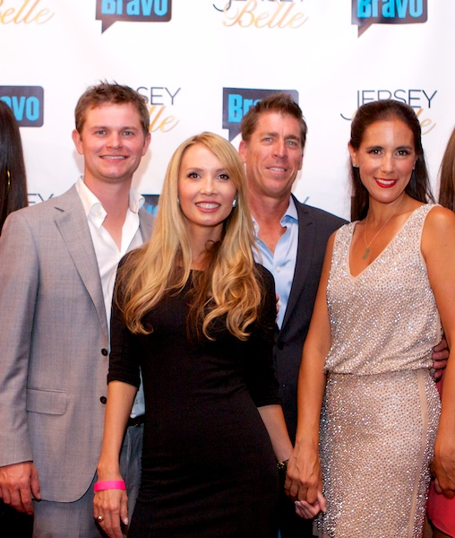 At the premier party Birmingham, AL Iron City William Upton, Arden Ward Upton, Michael Sullivan, Jaime Primak Sullivan