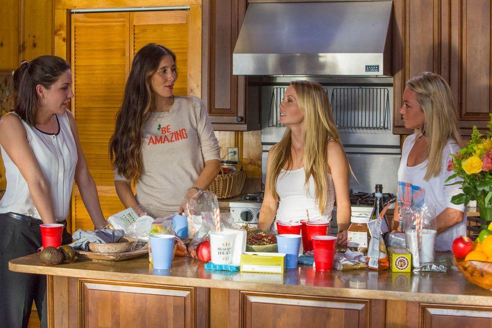 Luci, Jaime, Arden, Haley Season Finale Jersey Belle