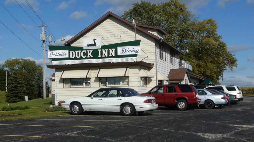 Dine on wonderful supper club fare as you are surrounded by duck decor at The Duck Inn in Delavan, WI.
