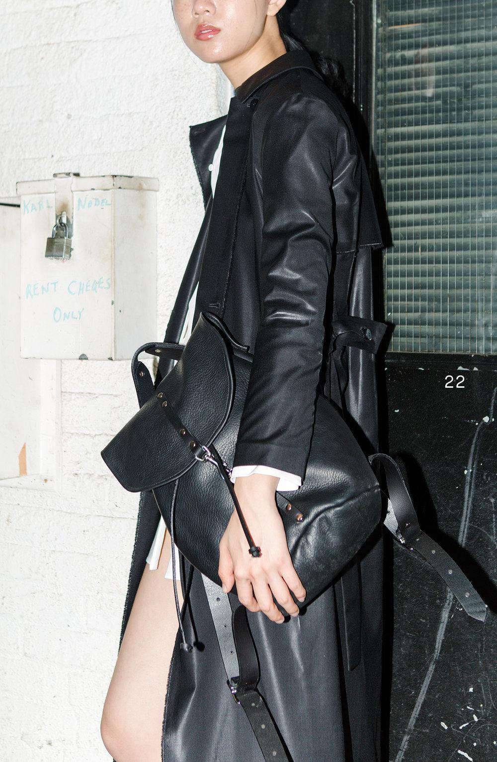 Sonya Lee - Sable Backpack 08/10