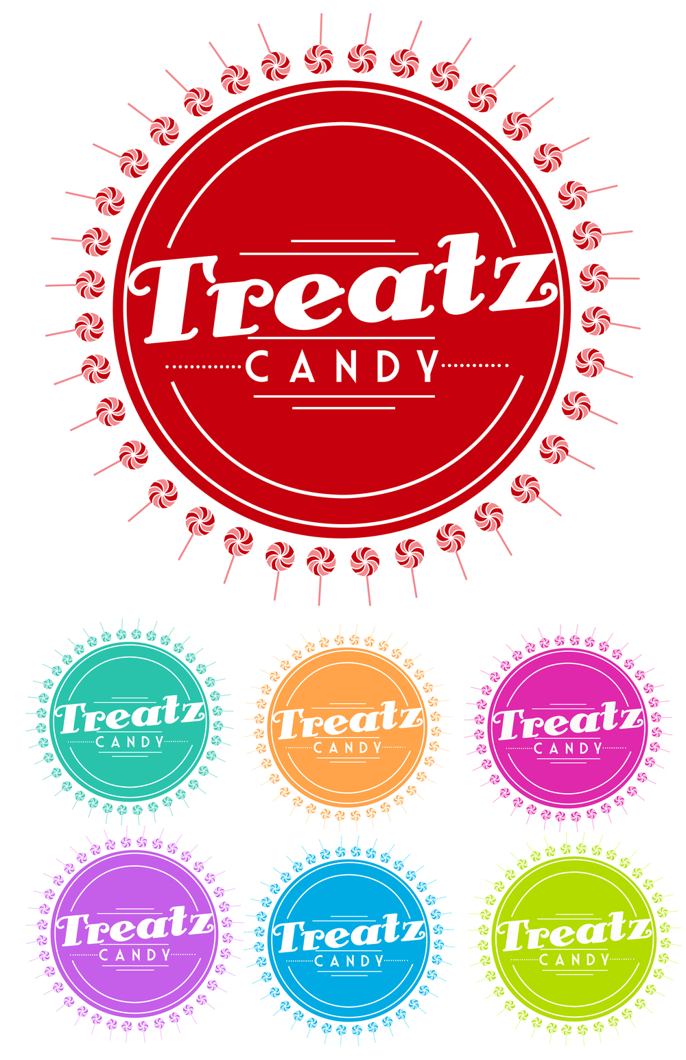Treatz Candy Logo Proposal