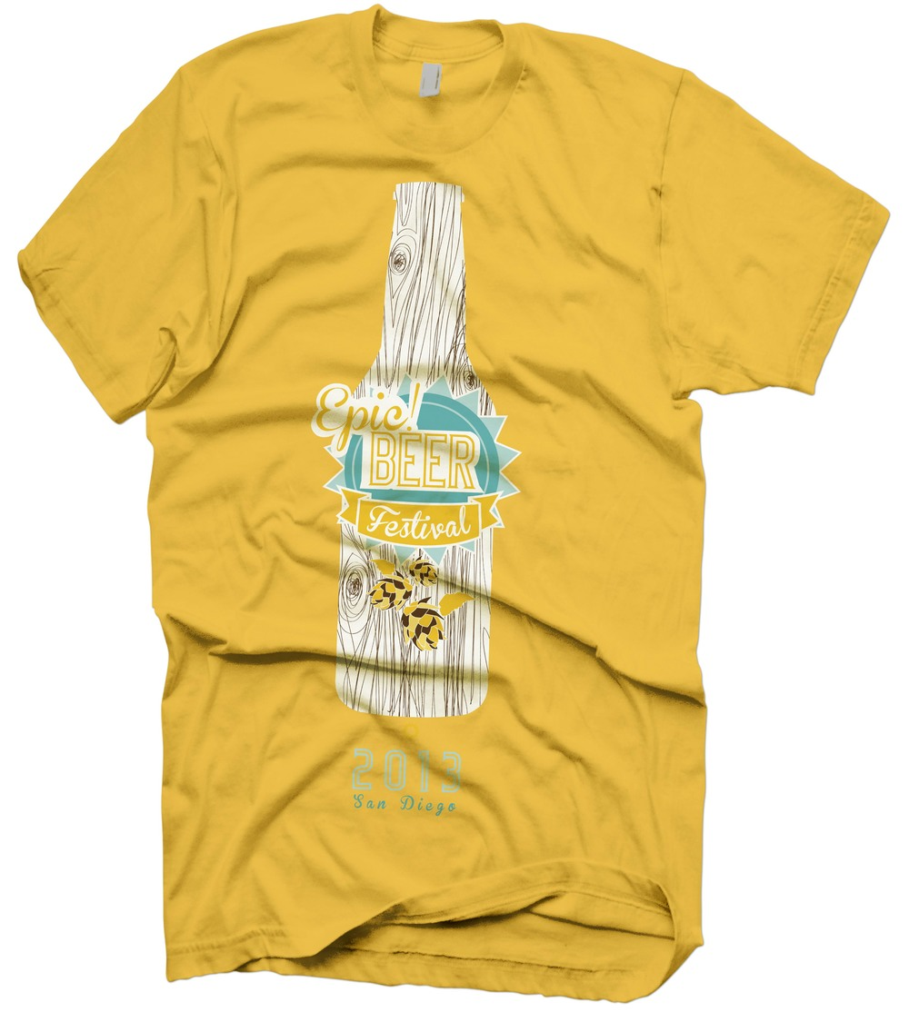 Event Branding--T-Shirt Beer Festival Proposal