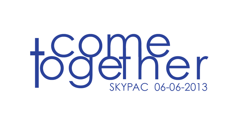 Event Branding--Come Together Logo