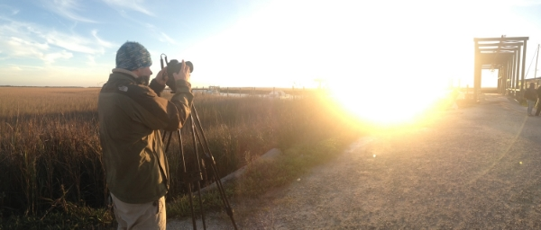 Kyle shooting time lapses on Tybee Island, GA