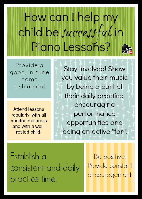 Piano Parent Tips