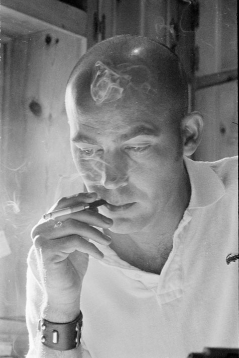 Hunter S. Thompson by David Hiser