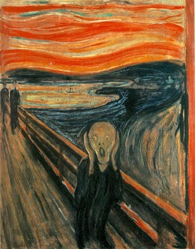 'The Scream    ' Edvard Munc    h, 1893