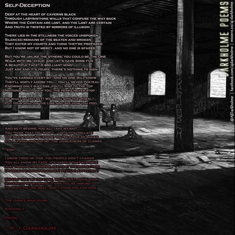 Self-Deception — A  J  Darkholme