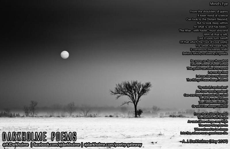 Poetry — A  J  Darkholme