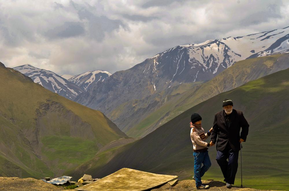 Xinaliq village, Azerbaijan