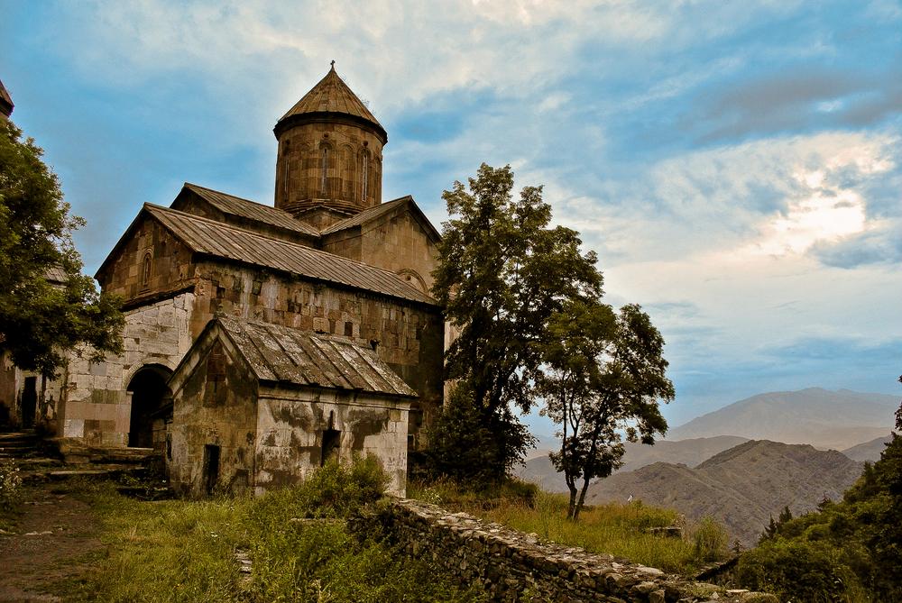 Part of the Sapara Monastery