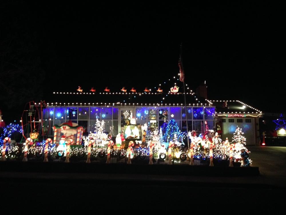 This house has a lot going on. Some might say too much.