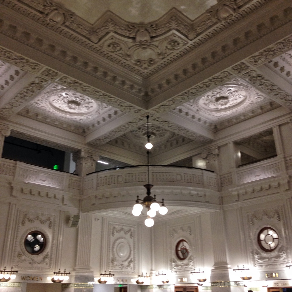 We spent two nights in Seattle and then made it to the train station to head to Portland. The station was recently renovated and is beautiful!