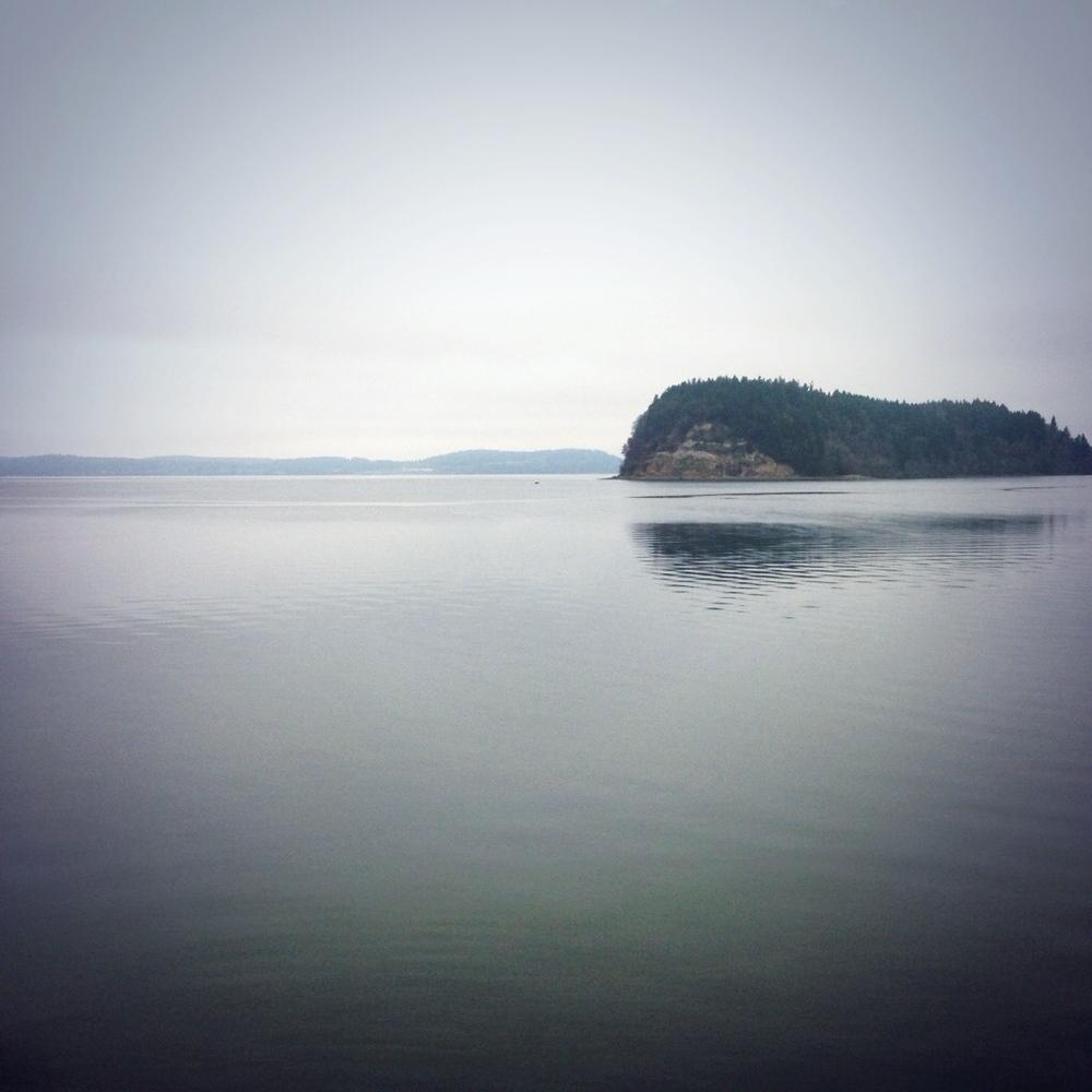 Oregon coast, from the train.