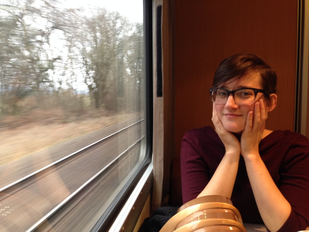 Either way, it's a great time on the train.  We had an awesome night in P-town. Next stop: Essex, Montana!