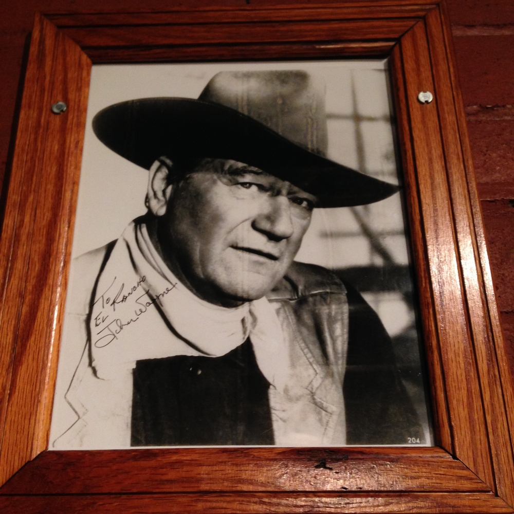 Ben gave us the tip of a great dinner place -  El Rancho Hotel/Mote l, right down the street. Apparently a lot of movie stars frequented the joint and they have a ton of autographed headshots. We recommend stopping in :)