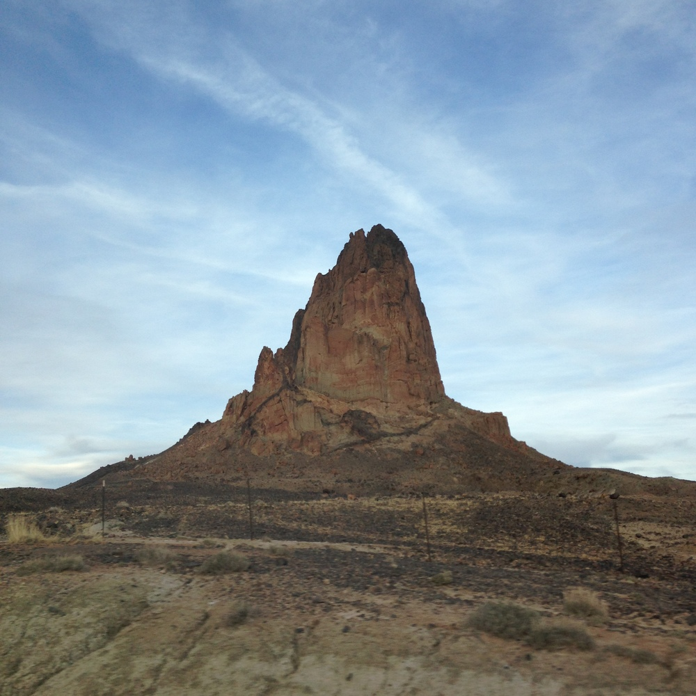On the road again - this isn't even monument valley yet!