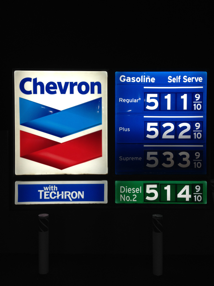 Fill up before you get into Death Valley!! Most expensive gas on the trip.