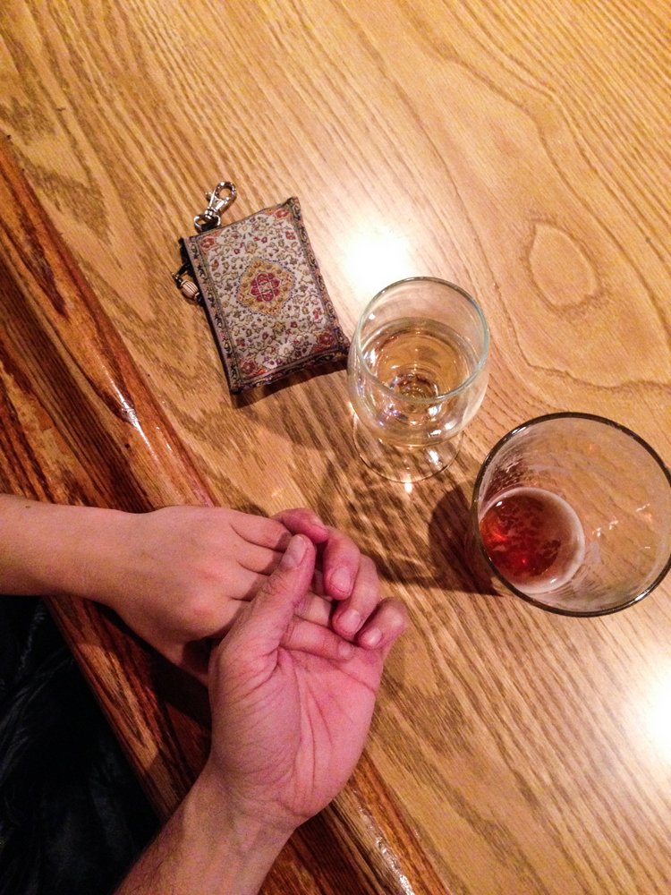 Date night. With cocktails and proper socialization. We talked to other people, got great some great news.....and some not so great news. The pass we intended to take to Yosemite was now closed and we had to do a major re-work of our itinerary. More on that later!