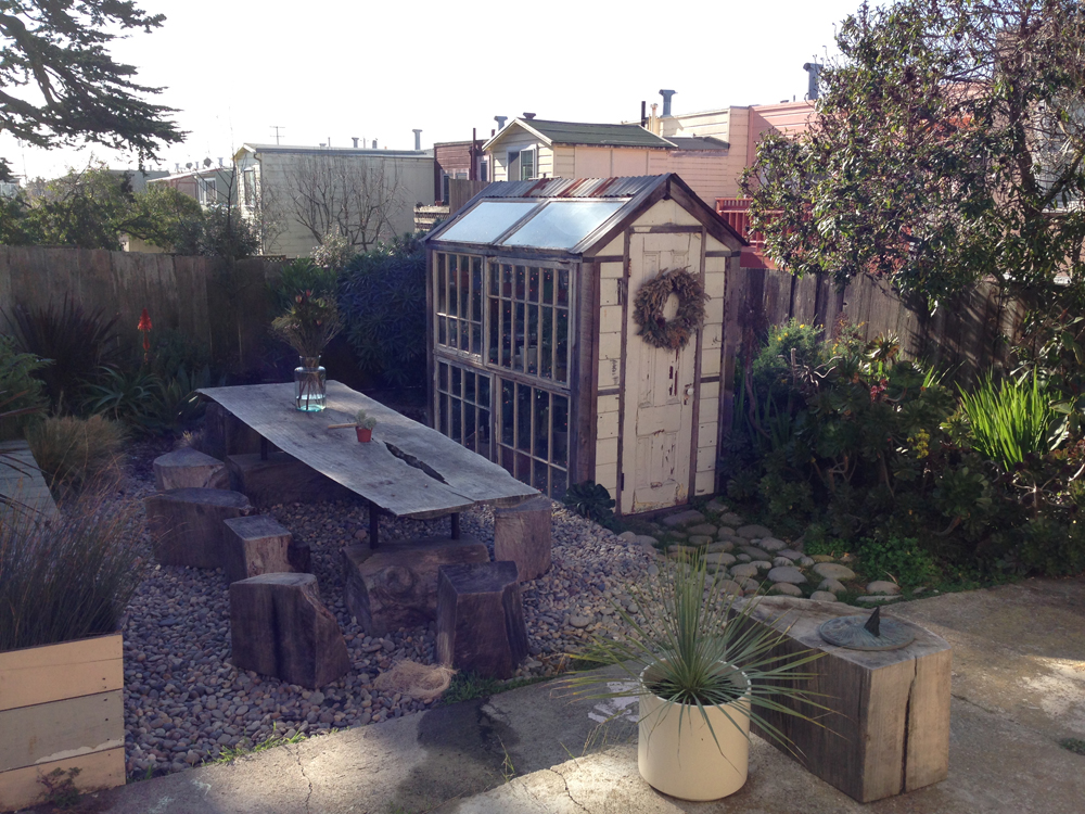 Erics most favorite backyard in the world belongs to common goods in SF