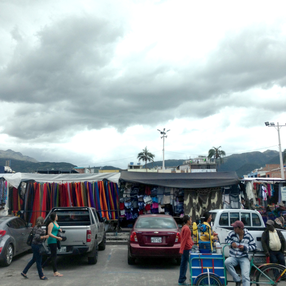 The market from the outside.