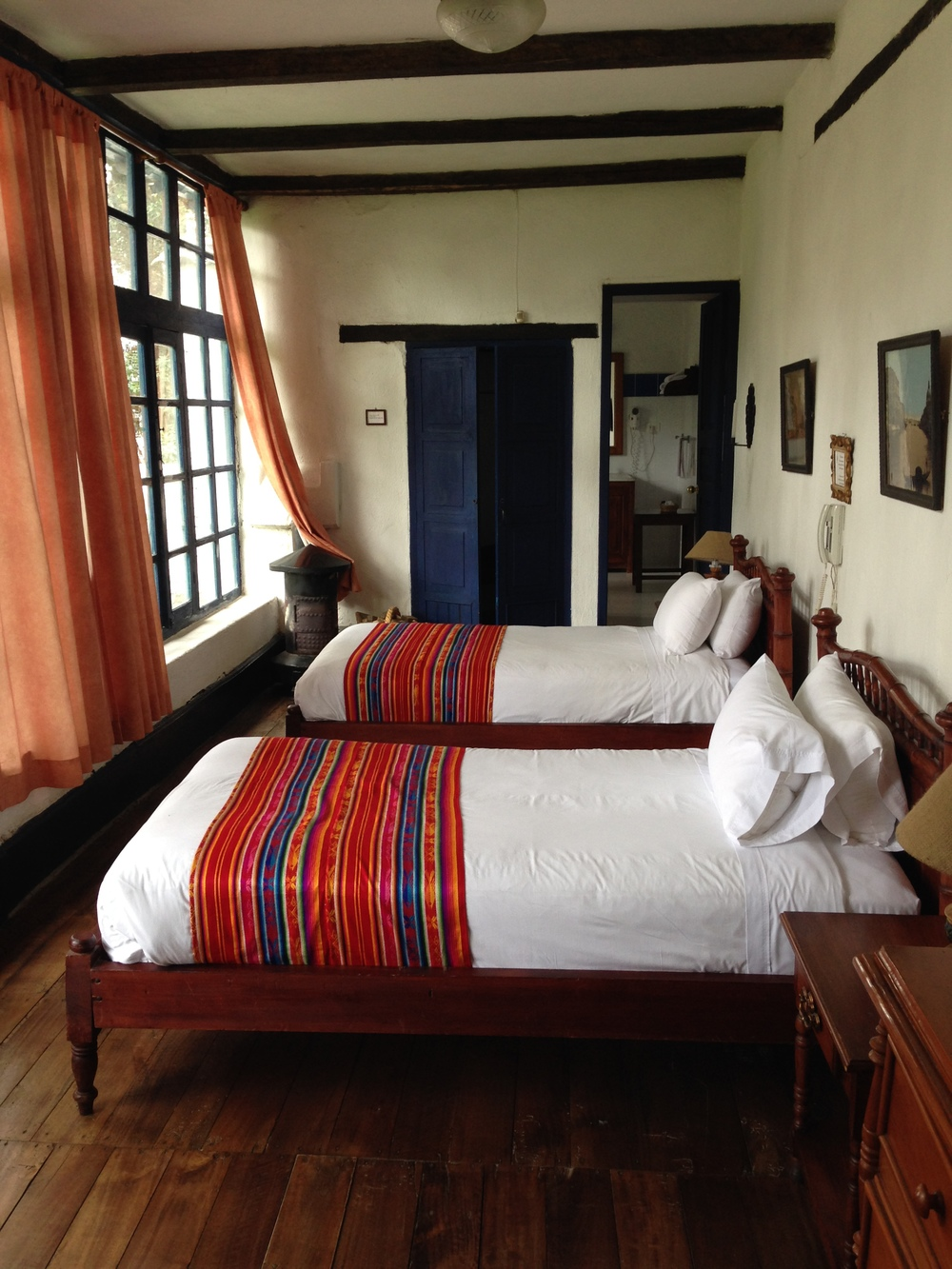 One of the rooms at the Hacienda.