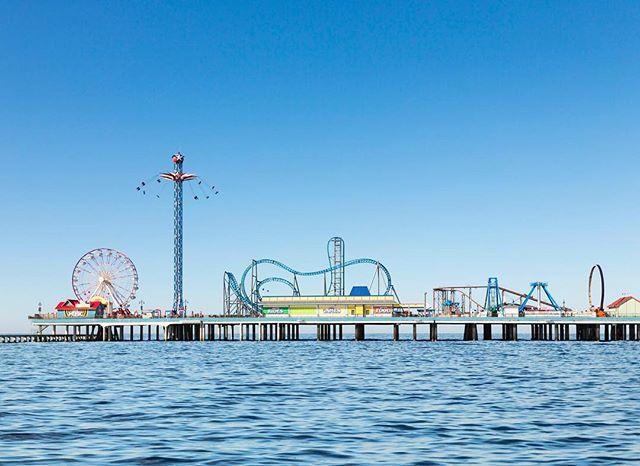 Galveston Island Historic Pleasure Pier.